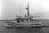 Meerheim, a steel 42 footer built in Guyamas
